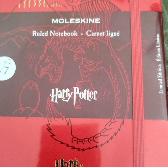 Harry Potter Moleskine Limited Edition Notebook